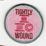 Quilt Patches 2''- Iron on-Tightly Wound